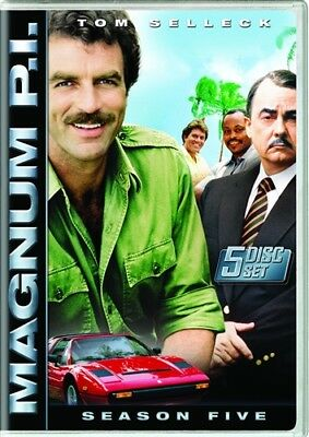 MAGNUM PI SEASON 5 FIVE Sealed New 5 DVD Set Tom Selleck