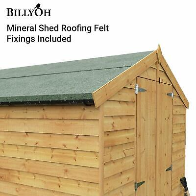 Roofing Felt | Premium Green Mineral Wooden Shed felt (Nails Included!)
