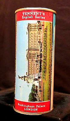 Tennents Lager English Series - 1950's 16Oz Flat Top Can - Buckingham Palace