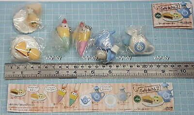 Cafe De Hamster Figure Part 2 , complete set 6 pcs - Epoch   , h#2