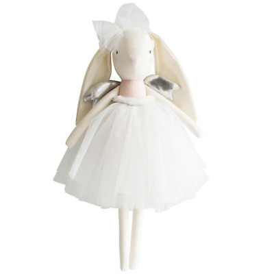 ALIMROSE ANGEL BUNNY PINK SILVER CLOTH DOLL - 50cm