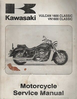 KAWASAKI SHOP MANUAL Vulcan 1600 Classic VN1600