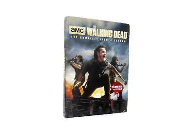 NEW The walking dead season 8 (2018 DVD 5-Disc set)Brand New Free Shipping