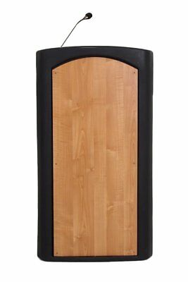 Black Color Stand-Up Accent Lectern Podium Church Office School University