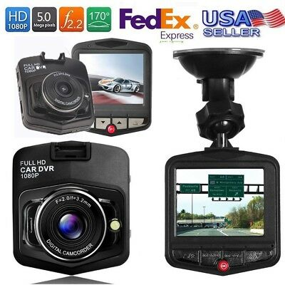Car Mintiml Dash Camera Video Recorder HD 1080P Night Vision Supports up to 32G