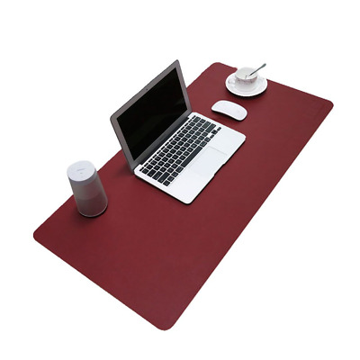 BUBM PU Leather Mouse Pad Mat Waterproof, Perfect Desk Writing for Office...
