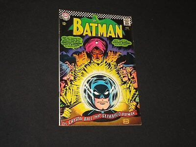 Old 1967 Batman # 192 DC Comic Book Silver Age superhero Crystal Ball