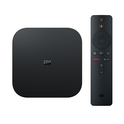 TV BOX XIAOMI Mi Box S Android 8.1 Netflix 4K 2GB 8GB 4K Chromecast AC WiFi