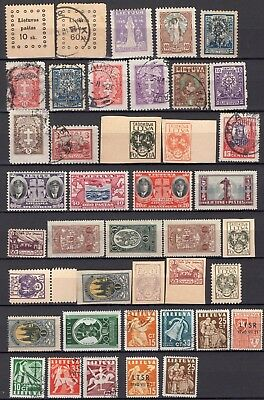 Lot Lithuania, M/U, combine shipping 64