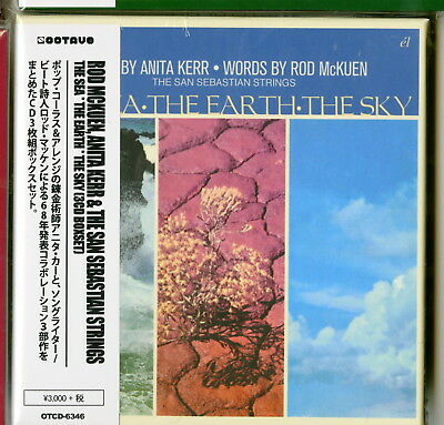 Rod Mckuen. Anita Kerr...-The Sea X The Earth...-Import 3 Cd With Japan Obi G88