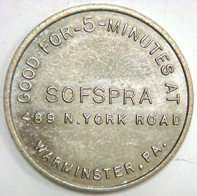 Sofspra 489 N. York Road, Warminster, Pa. 25¢