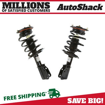 Front Pair (2) Complete Struts Assembly w/coil springs Fits 06-11 Buick Lucerne