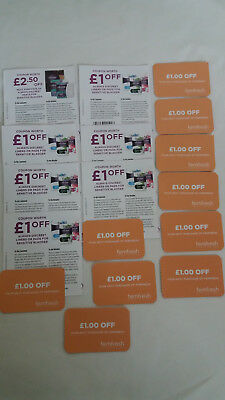 £18.50 Money-Off Coupons Voucher FEMFRESH, ALWAYS DISCREET PANTS LINERS PADS
