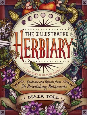 The Illustrated Herbiary by Maia Toll 9781612129686 (Hardback, 2018)