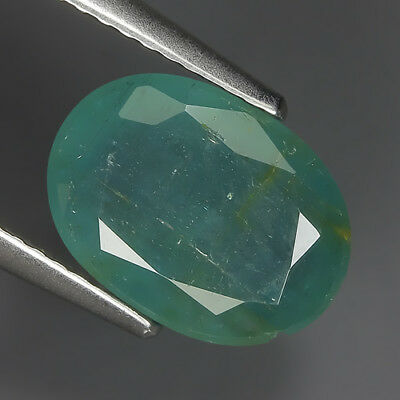 Sporty 3.02 Ct Natural Zambia Green EMERALD Oval Gemstone @ See Video !!