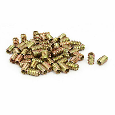 30pcs M8x14mm zingué assortiment Meuble Non-Flange insert fileté