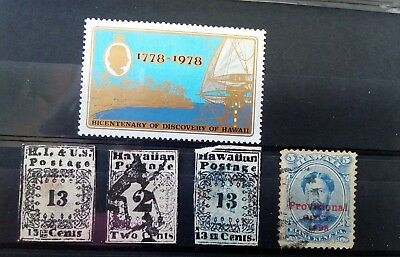 Stamps Used Mm Hawaii