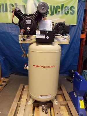Ingersoll Rand Vertical Air Compressor 80 Gal. 7.5 HP 24 CFM #45465564 REPAIR