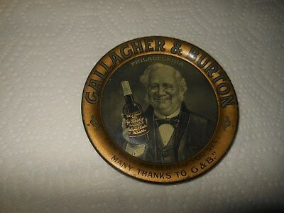 Gallagher & Burton Pre Prohibition Tip Tray I Am Well Preserved You See........