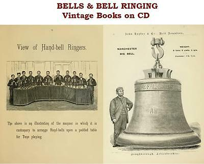 Bell Ringing Vintage Books on CD Hand Bells Foundry Campanology Change Ringing