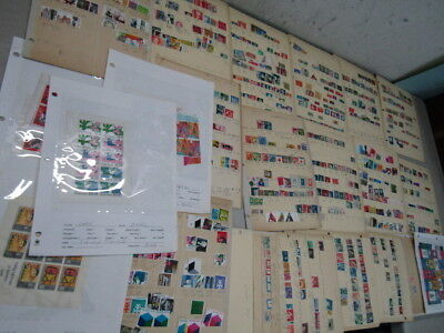 Nystamps Netherlands old stamp & souvenir sheet collection stock page with mint