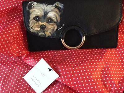 Yorkie Hand Painted Wallet