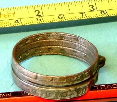 RINGDIAL or POCKET SUNDIAL from ASSOCIATION Shipwreck 1707 Isles of Scilly