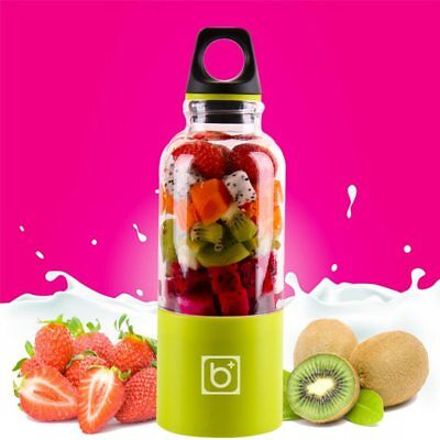 Portable Electric Juicer Cup USB Rechargeable Personal Fruit Mixer with Stain