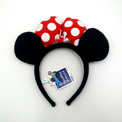 Disney Parks Minnie Mouse Ears Party Festival Mickey Red Spots Gift Cos Headband