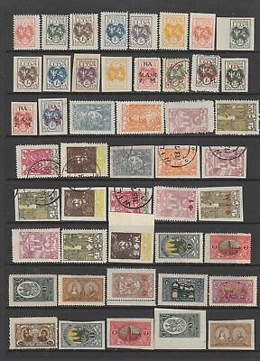 Central Lithuania collection, 63 stamps , MH or used