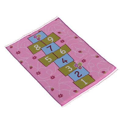 Doll House Miniature Furniture Floor Rug Carpet for Interior Modelling 9K5N7 1X