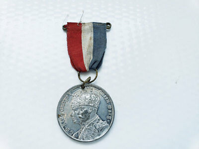 1911 King George Queen Mary Coronation Medal