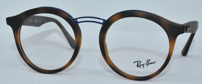 715c24fb811 New Authentic Ray Ban Eyeglasses Rb7110 5692 Matte Havana blue 46-20-145