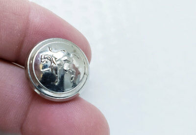 Coat Of Arms Coat Button ~ Standing Lion