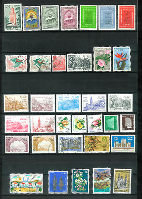 Republic of Algeria 35 All Different Used Stamps 1962 Forward