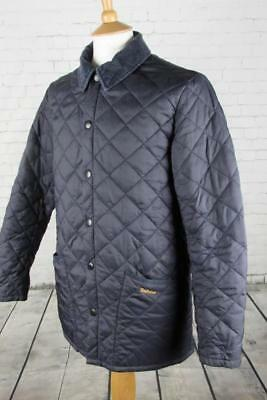 Mens Barbour Heritage Liddesdale Quilted Jacket Coat Terrace Casuals Small