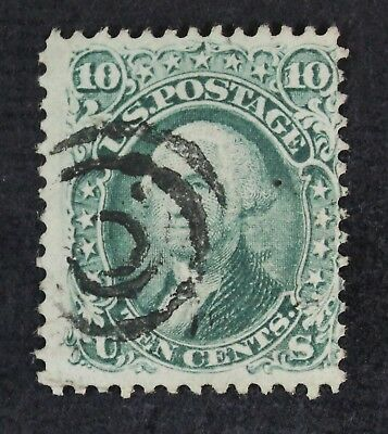 CKStamps: US Stamps Collection Scott#89 10c Washington Used Signed CV$350