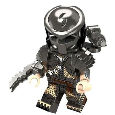 NEW The Predator Custom Set Armored Soldiers Swat Army Alien Saga Minifigures