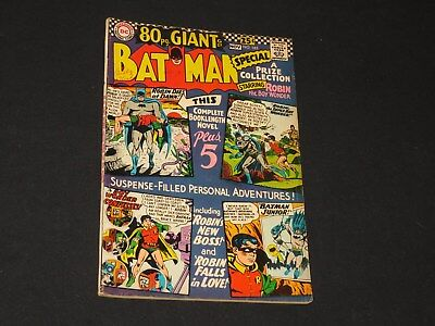 Batman #185 Old 1966 DC Comics Comic book Silver Age, 80 Page Giant