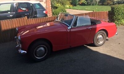 1966 MG Midget Mk2 with 1275 fully restored. Stunning car!