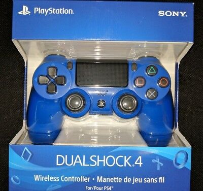 PS4 DualShock 4 Wave Blue Wireless Controller |BRAND NEW SEALED Playstation 4