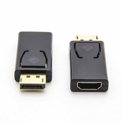 For HDTV PC 1080 Converter Adapter Display Port DP Male To HDMI Female