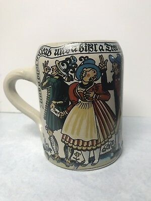 Kurt Hammer Beer Stein Mug Bavaria Germany 5 1/4""