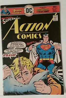 Action Comics # 457 - Dc Comics - March 1976