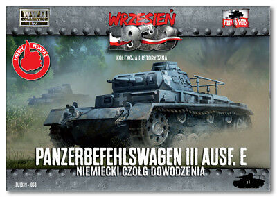 1/72 First to fight PL1939-063 Panzerbefehlswagen III Ausf. E -Ger. command tank