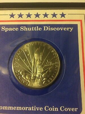 Space Shuttle $5 Commemorative Coin - 99.99 Silver?