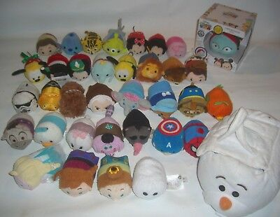 "Tsum Tsum disney Plush Mini 3.5"" Bean character toy lot"