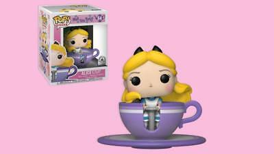 Disney Parks Exclusive Funko Pop Alice at the Mad Tea Party