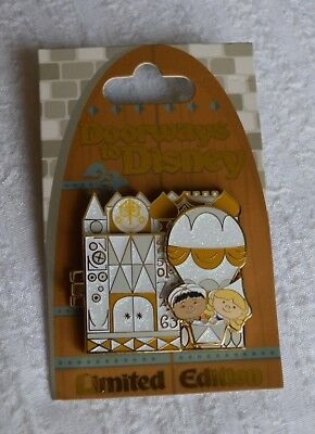 Pin 122426 Doorways to Disney – It's a Small World