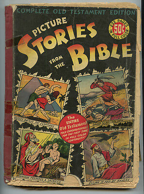 Picture Stories From The Bible Complete Old Testament Edition (Ec 1944) Nr